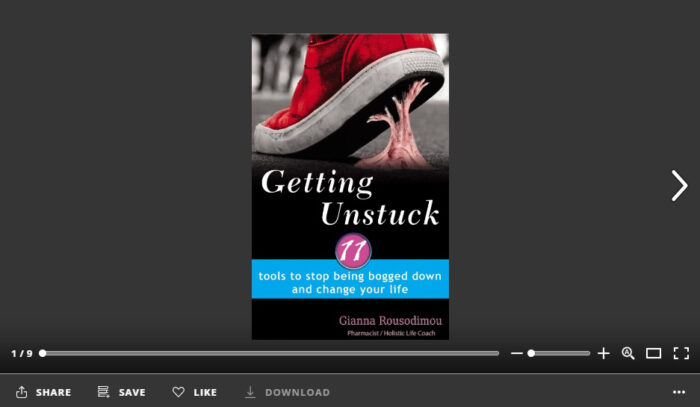 Getting Unstuck flipbook