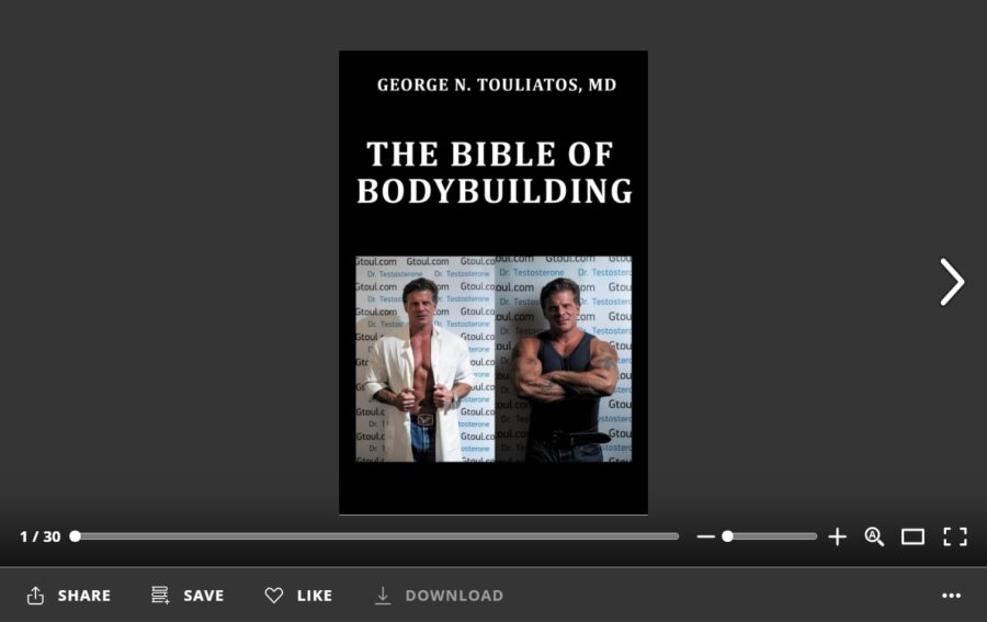 The bible of bodybuilding -Sample
