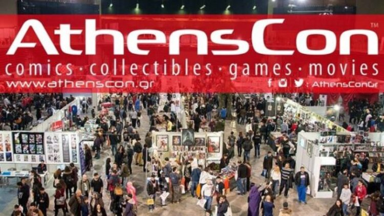 AthensCon 2019 – Έκθεση κόμικς (Χρυσούς Αιών – Γιώργος Σταματόπουλος)