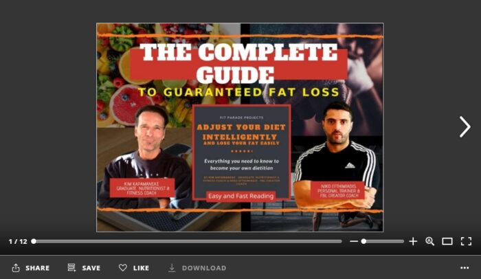 THE COMPLETE GUIDE TO GUARANTEED FAT LOSS - flipbook